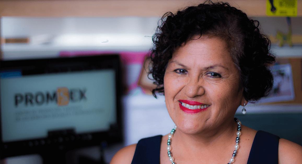Balbina Cárdenas - Asesora Técnica en Capacitación en Promsex