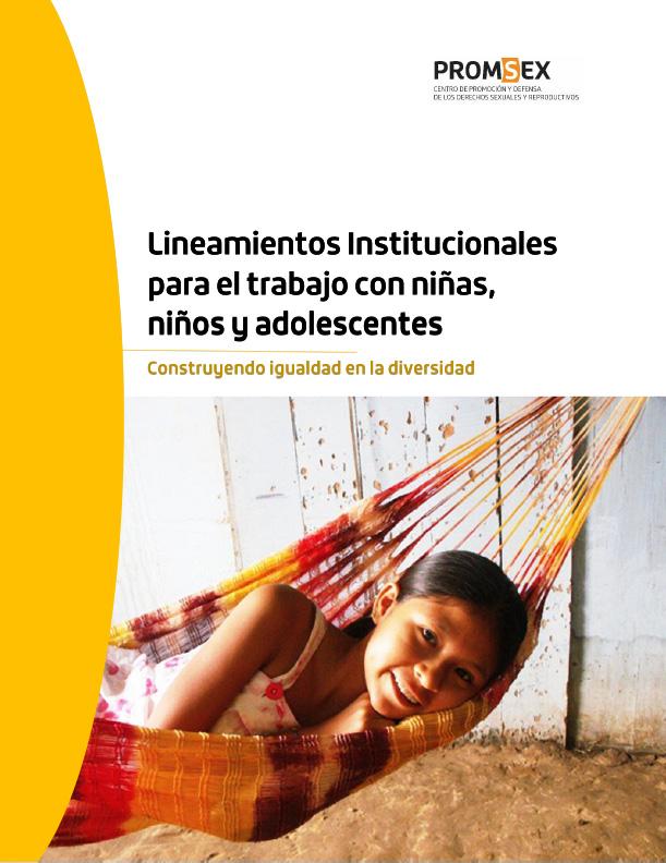 Lineamientos Institucionales para el trabajo con niñas, niños y adolescentes (PDF)