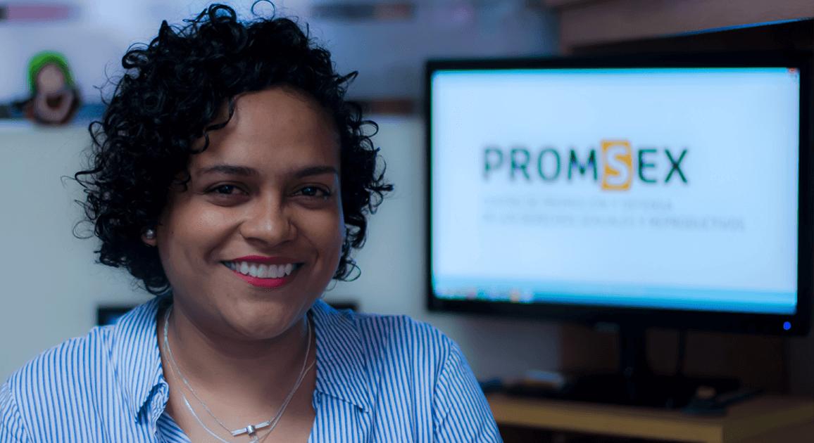 Sara Ramírez - Coordinadora de Fortalecimiento de Capacidades en Promsex