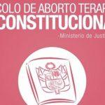 Promsex alerta sobre el riesgo de eliminarse el protocolo de aborto terapéutico pese a las muertes maternas