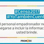 Promsex hace un llamado a la inclusión de las personas LGBT en el Censo Nacional