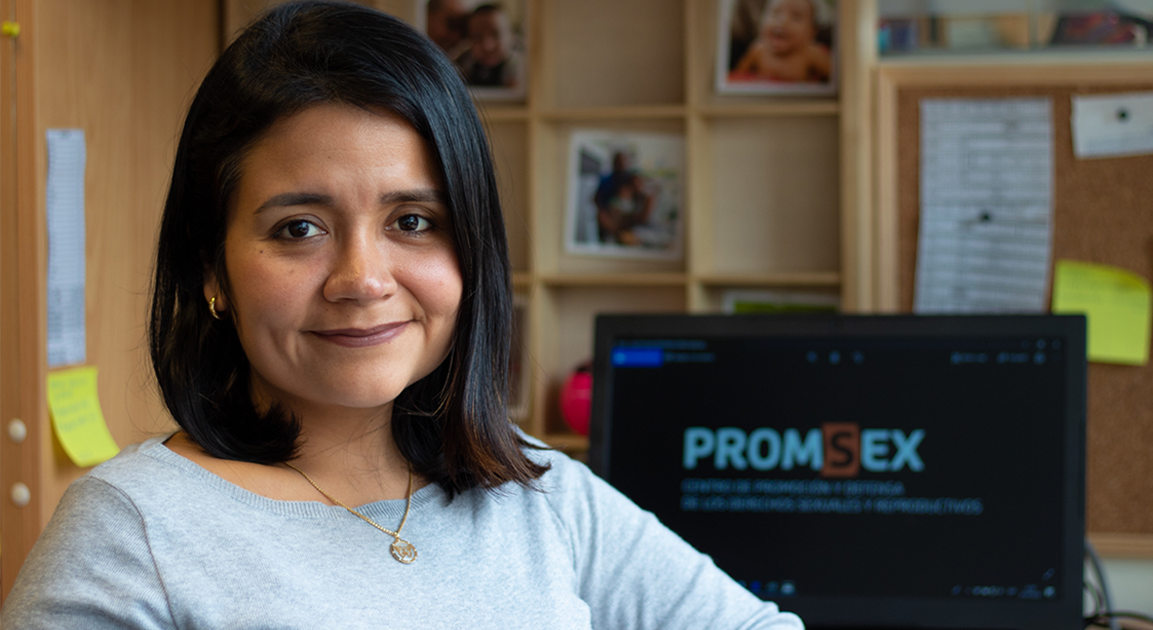 Elisa Juárez - Coordinadora de Monitoreo e Investigación en Promsex