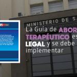 Poder Judicial declaró improcedente demanda contra el protocolo de aborto terapéutico