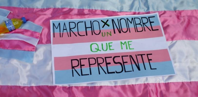 Imagen tomada de facebook del Director del Movimiento Trans del Perú Mishell Romaní.